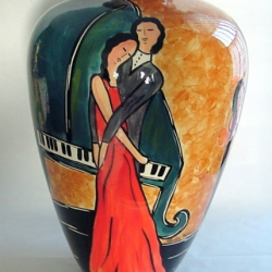 Dancing with you Ceramics by Claudia Beldent