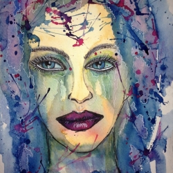Thalia Watercolor by Claudia Beldent